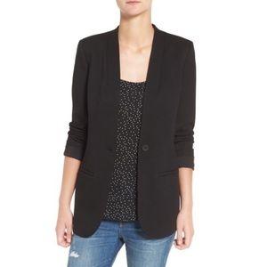 Madewell Tribune Blazer Oversized Black Size 4